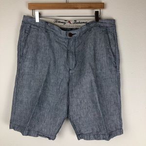 Tommy Bahama Linen Shorts Size 36